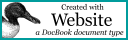 Visit The Docbook Website Project
